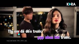 [Karaoke] Giả Vờ Nhưng Em Yêu Anh - Miu Lê (Beat chuẩn)
