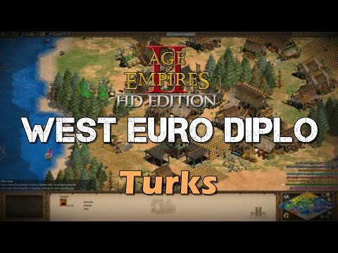 Shameless Bombard Spam | West Europe Diplomacy | Age of Empires 2 HD Custom Scenario