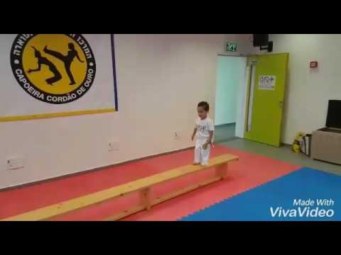 feioso junior 3 years old capoeira kids