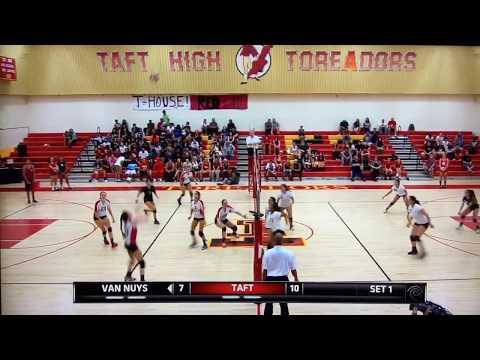 Girls Volleyball: Van Nuys vs. Taft - TWC (2013)