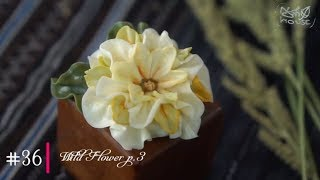#36 WildFlower | How to Buttercream flowers with MeNgheHomemade