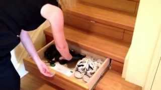 Under Stair Storage - Instep Drawers (patent Pending) By Stairpro In Brisbane, Australia