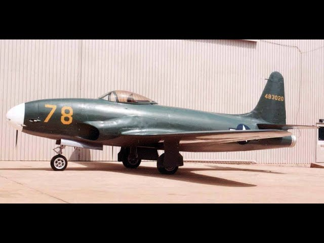 P-80 Shooting Star - America's WW2 Combat Jet