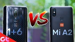 Mi A2 vs OnePlus 6 Camera Comparison | SHOCKING RESULTS!