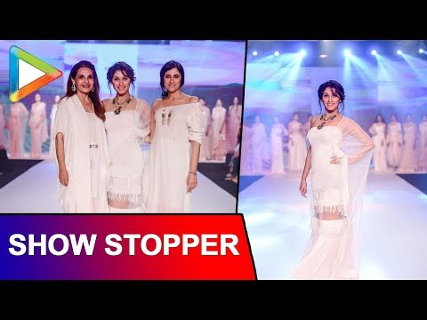 Manjari Fadnis SHOW-STOPPER For Rina Dhaka & Poonam Soni | BOMBAY TIMES FASHION WEEK
