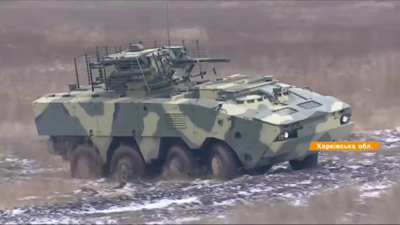 ВСУ получили в своё распоряжение бронетранспортер «Буцефал»