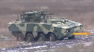 Новый украинский БТР-4МВ1: не боится ни воды, ни снарядов