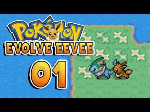 Pokemon Evolve Eevee Part 1 EEVEE MASTER RACE Pokemon Fan Game Gameplay Walkthrough