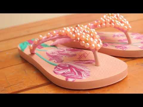 Transforma tus chanclas en unas lindas sandalias/Transform your flip flops/diy