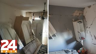 Brzo istrčao van: Snimao razrušenu kuću i 'uhvatio' novi potres | News #Shorts
