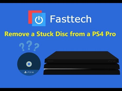 PS4 Pro Stuck Disc Guide (Remove a Game from a dead PS4)