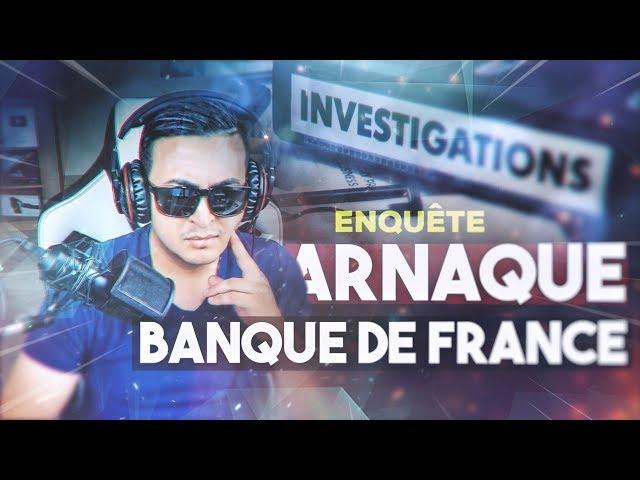 IL ARNAQUE LA BANQUE DE FRANCE EN TOUTE IMPUNITÉ