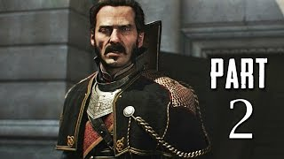 The Order 1886 Walkthrough Gameplay Part 2 - The Lady - Campaign Mission 1 (PS4)