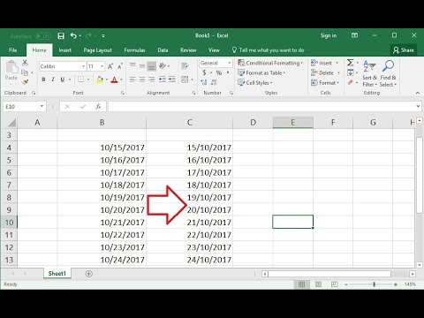 Change Date Formats in Excel As per your Country Location (Easy)