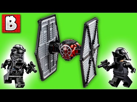 Lego Tie Fighter Set 75101 Star Wars First Order With LevelCap | Unboxing Building Review Time Lapse