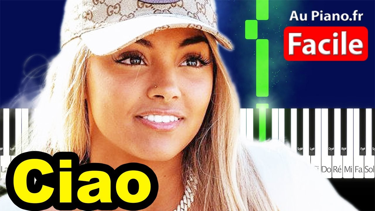 Download Wejdene Ciao - Piano Cover Tutorial Lyrics (AuPiano fr)