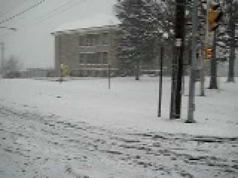 The Snow Storm of 2009:Havertown,Pa.