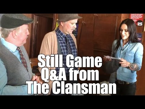 Still Game - Q&A in The Clansman with Ford & Greg (AKA Jack & Victor) and Amy MacDonald