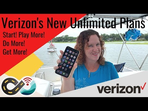 Understanding Verizon's New Unlimited Plans: Start, Play More, Do More And Get More