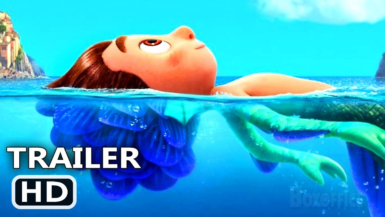 LUCA Official Trailer (2021) Disney Pixar Movie HD