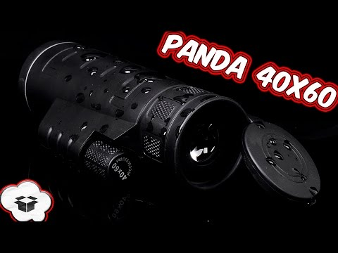 Хороший монокуляр PANDA 40X60 с eBay. Посылка из Китая