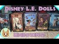 Disney Limited Edition Designer Dolls 2017 Set Fairytale/Folktale Collection - Shipped - Unboxing!