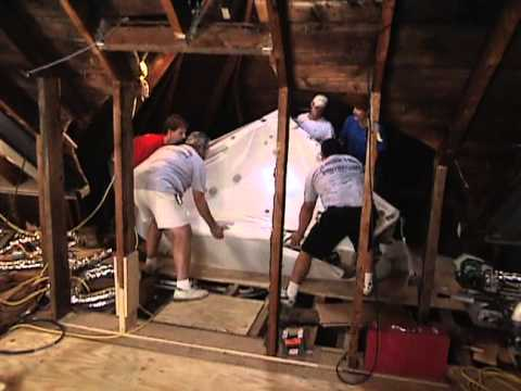 How to Install Whirlpool Tub in Attic - Historic Home Renovation Providence, RI  - Bob Vila eps.2212