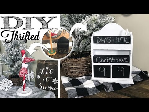 DIY Thrifted Christmas Decor | CHRISTMAS IN JULY