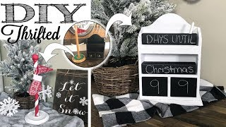 DIY Thrifted Christmas Decor  …