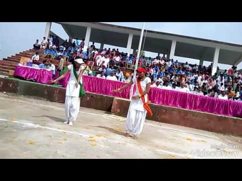 Aisa desh hai mera song's dance performed by Deepika and Mona Mahawar on 15th August 2016