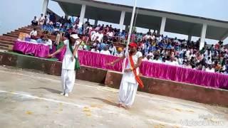 Aisa desh hai mera song's dance performed by Deepika and Mona Mahawar on 15th August 2016
