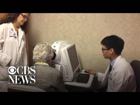 Could an eye exam help detect Alzheimer's?