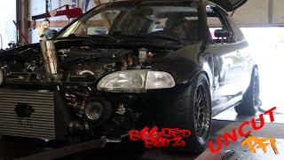 The Battle for 700hp civic! PFIspeed UnCut😉
