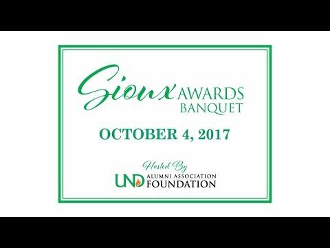 2017 University of North Dakota Sioux Awards