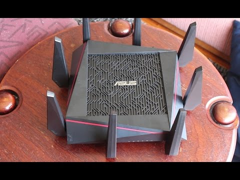 ASUS RT-AC5300 Tri-Band Gigabit Router Overview