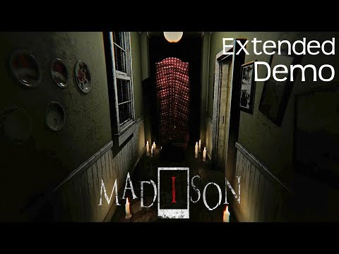 MADiSON - Extended Demo Gameplay Walkthrough (Awesome Horror Game)