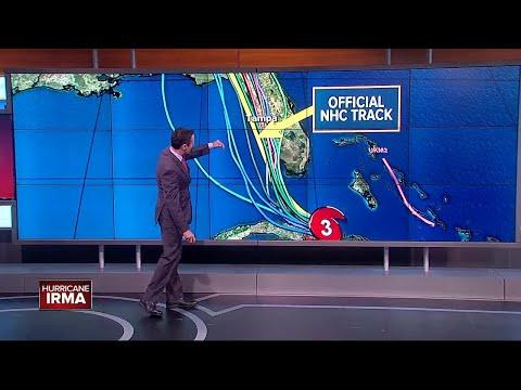 Hurricane Irma taking aim at Florida | Saturday 11AM update with Greg Dee