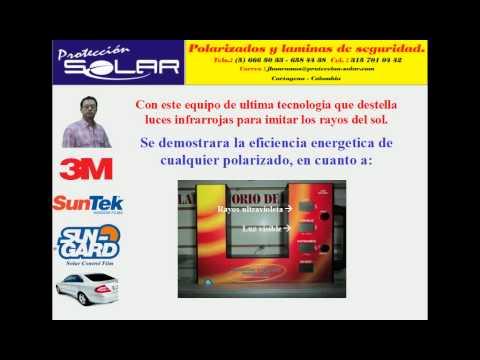 f5af59a1e6 Como elegir o reconocer un buen polarizado para su vehiculo o apartamento.  - YouTube