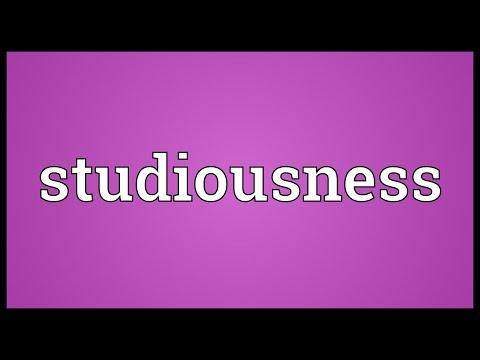 Header of studiousness