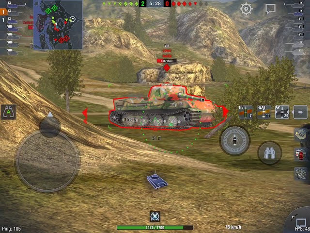 Kpz 70 goes Hill on Mines!