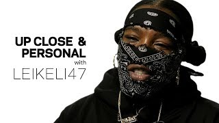 Leikeli47 On Honest Storytelling, Performing With A Mask, 'Acrylic' & More   Up Close & Personal