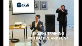 Disability Awareness Training Canberra | Huy Nguyen 03 8400 4381 Enable Development