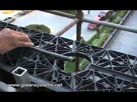 Green Wall Installation by Green Systems at Hotel Hyatt, New Delhi