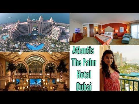 Atlantis The Palm Dubai Royal Hotel/ ROOM TOUR / KhushbuVlogs