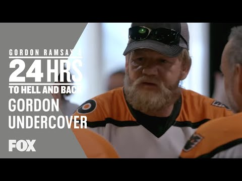 Gordon Goes Undercover As A Hockey Fan | Season 2 Ep. 2 | GORDON RAMSAY'S 24 HOURS TO HELL & BACK