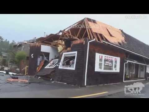 10-14-16 Manzanita, OR Tornado Damage