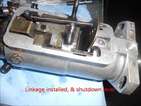 cav injection pump re-seal - YouTube