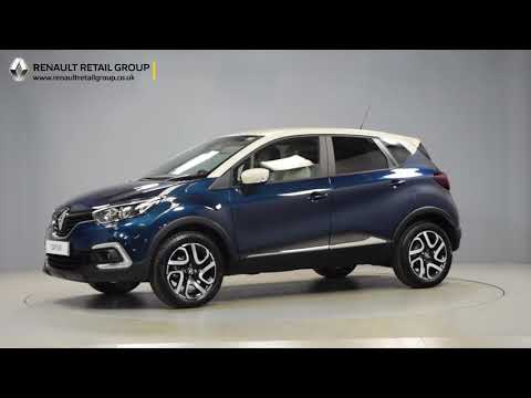 Renault Captur Iconic Ocean Blue Ivory Roof Youtube
