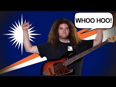 Flag / Fan Friday MARSHALL ISLANDS! (Geography Now!)