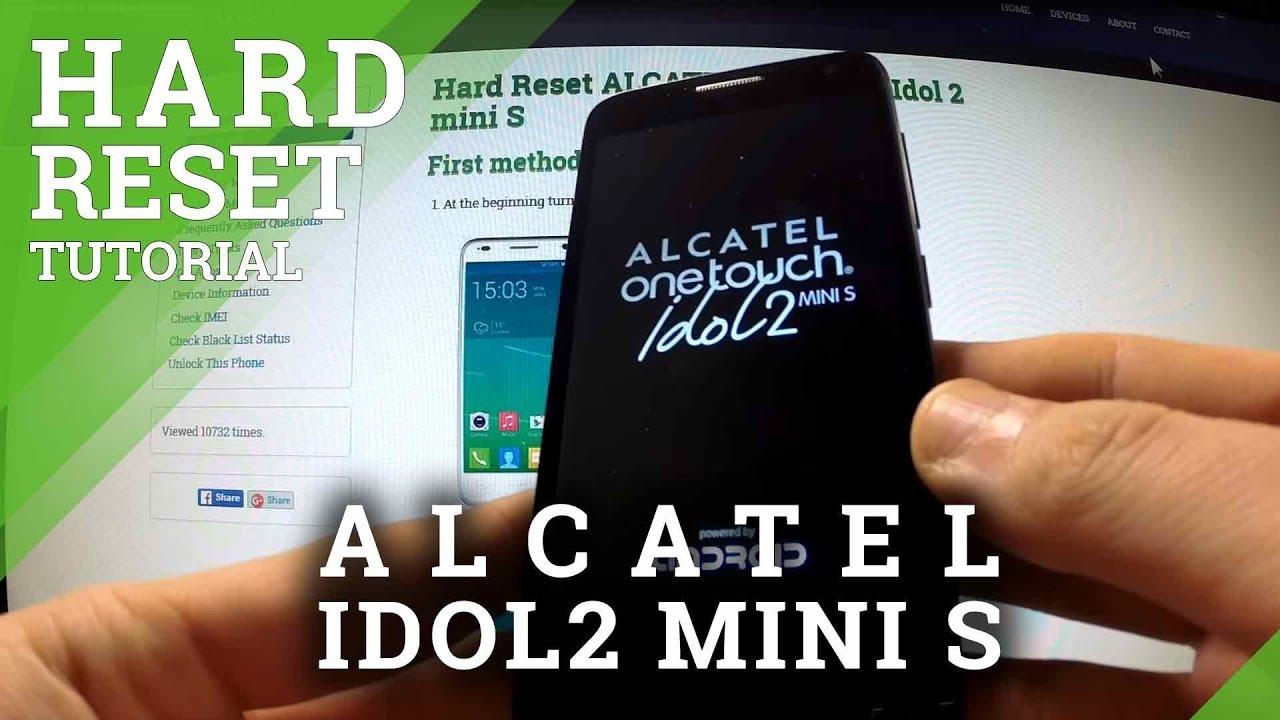 How to Factory Reset ALCATEL U5 - Wipe Data |HardReset info